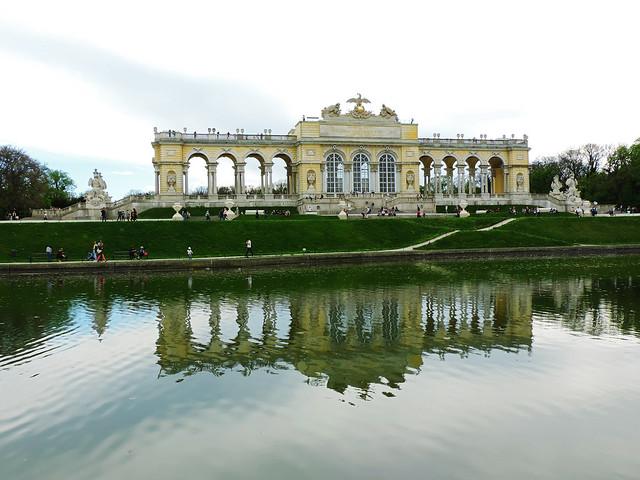 Gloriette in the garden of Schönbrunn Palace, Vienna