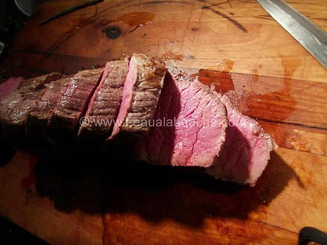 Roast-Beef au Foin Jus à la Bière © Ana Luthi Tous droits réservés 24