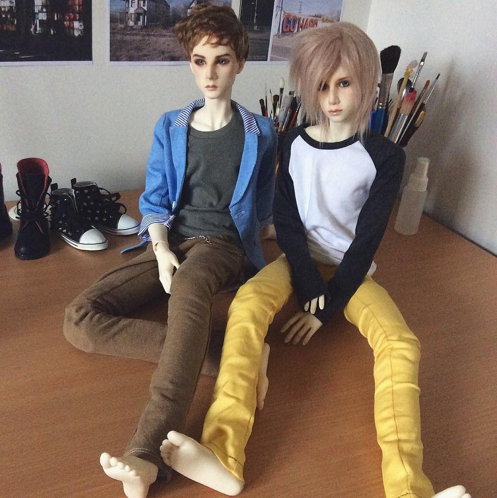 Dollshe Saint & Bernard