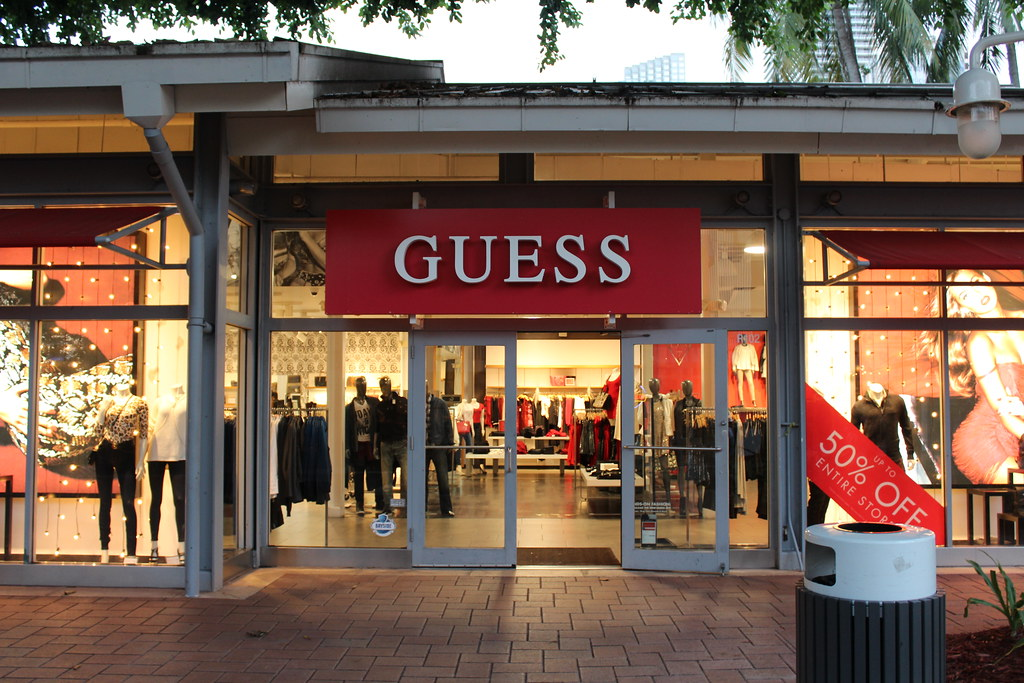 guess store bayside marketplace downtown miami phillip pessar flickr