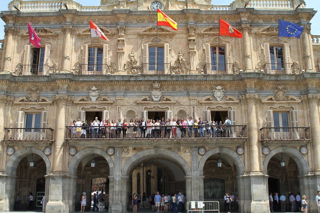 39 CED - (09/06/2016) Recepción en el Ayuntamiento de Salamanca