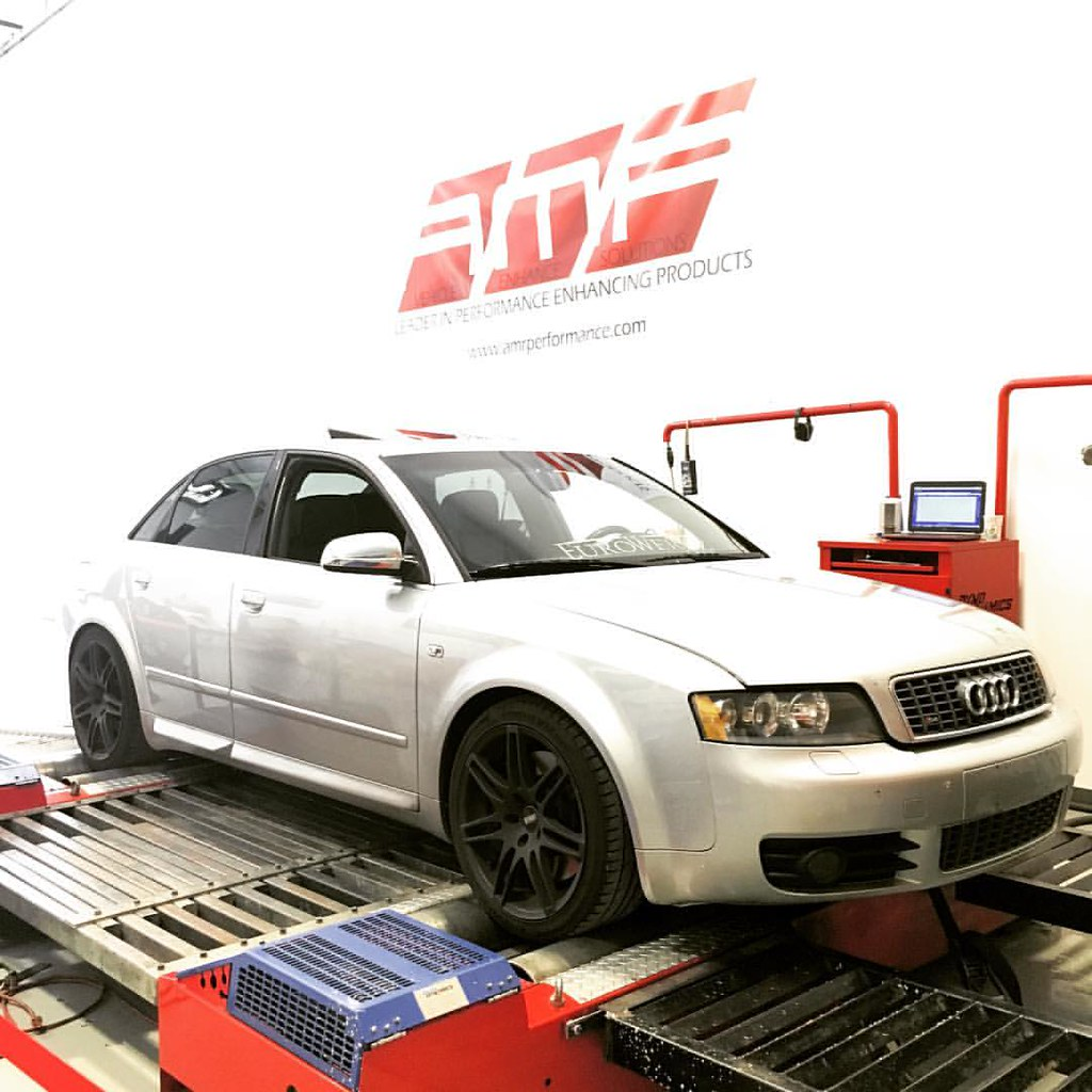 enogaa's Audi (@audi) S4 on the Dyno Dynamics (@dynodynam