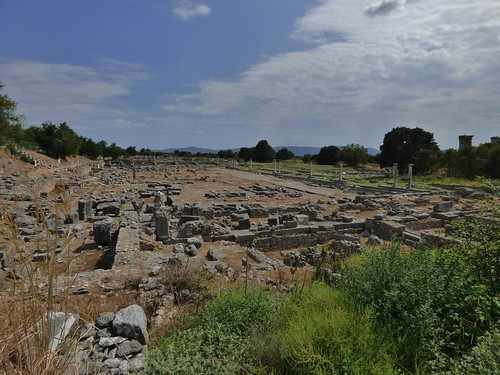 Philippi in Eastern Greece - August 2014