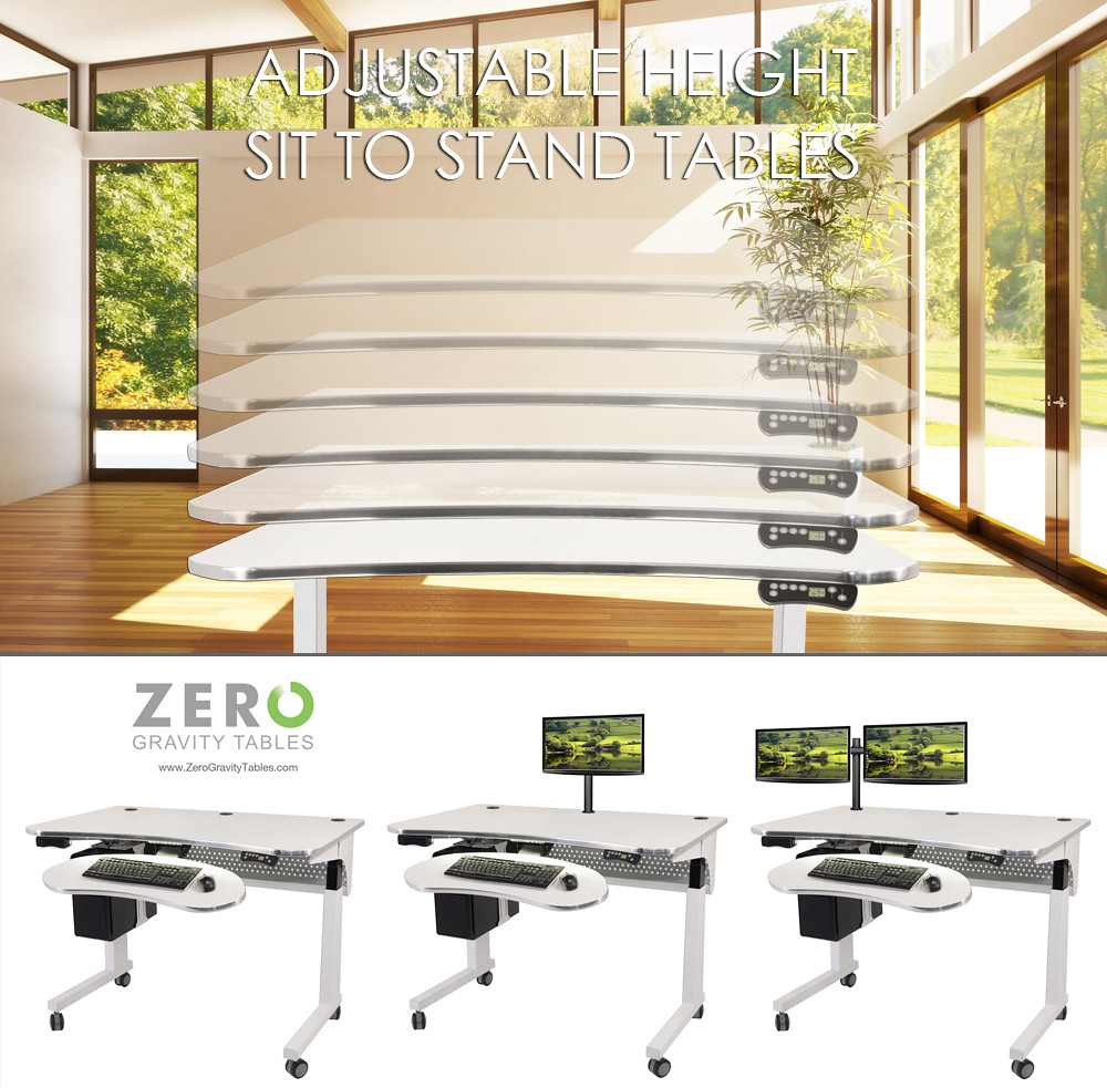 standing computer desk modern ergonomic design office furn flickr