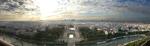 View of Paris from the Eiffel Tower | by idreamlikecrazy
