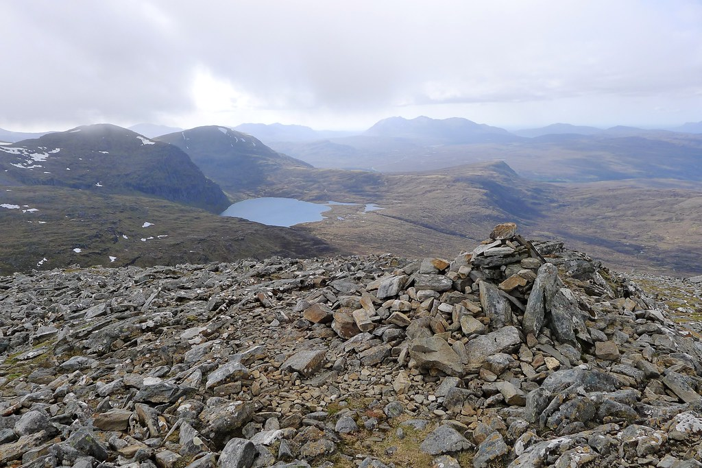 From the summit of Beinn Liath Mhor Fannaich