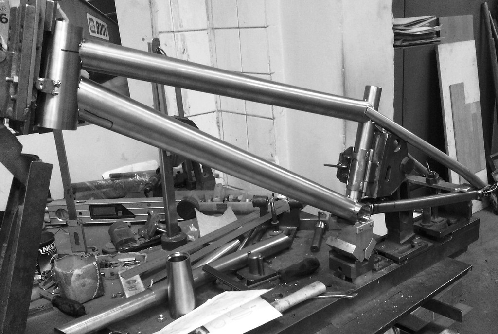 Titanium BMX Race Frame | You have been asking what our limi… | Flickr