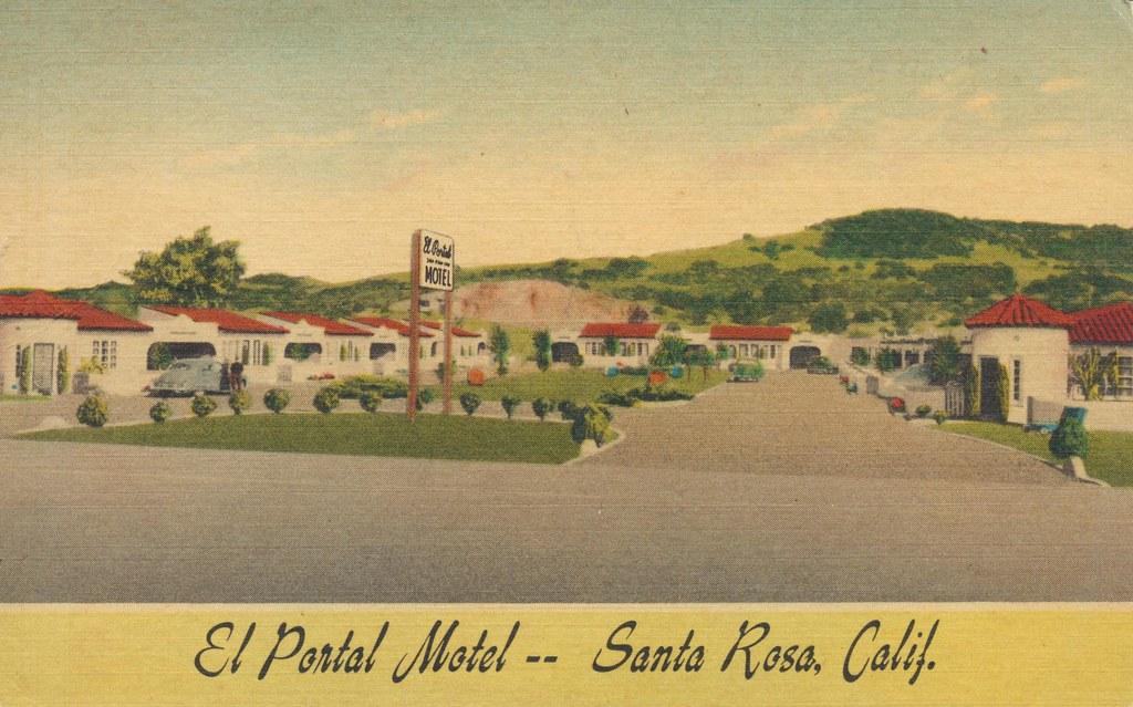 El Portal Motel - Santa Rosa, California