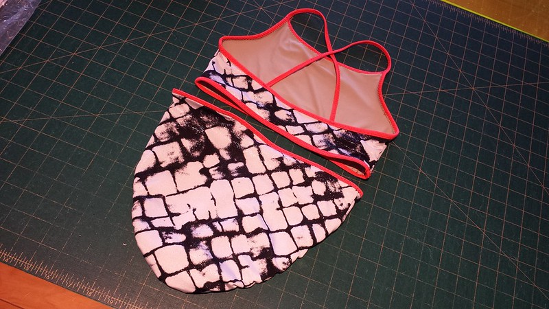 Mountain Ash Designs Swimwear Separates in nylon/lycra from Rathdowne Fabrics