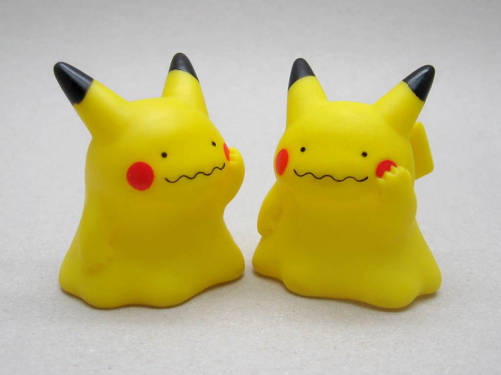ditto pikachu bandai finger puppet 2006 the moog flickr