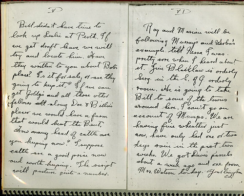 C.E. Anderson letter - Feb. 24, 1918 p.3 | by sprarchives