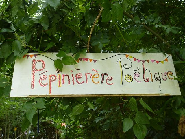 Forêt poétique : la Pépinière