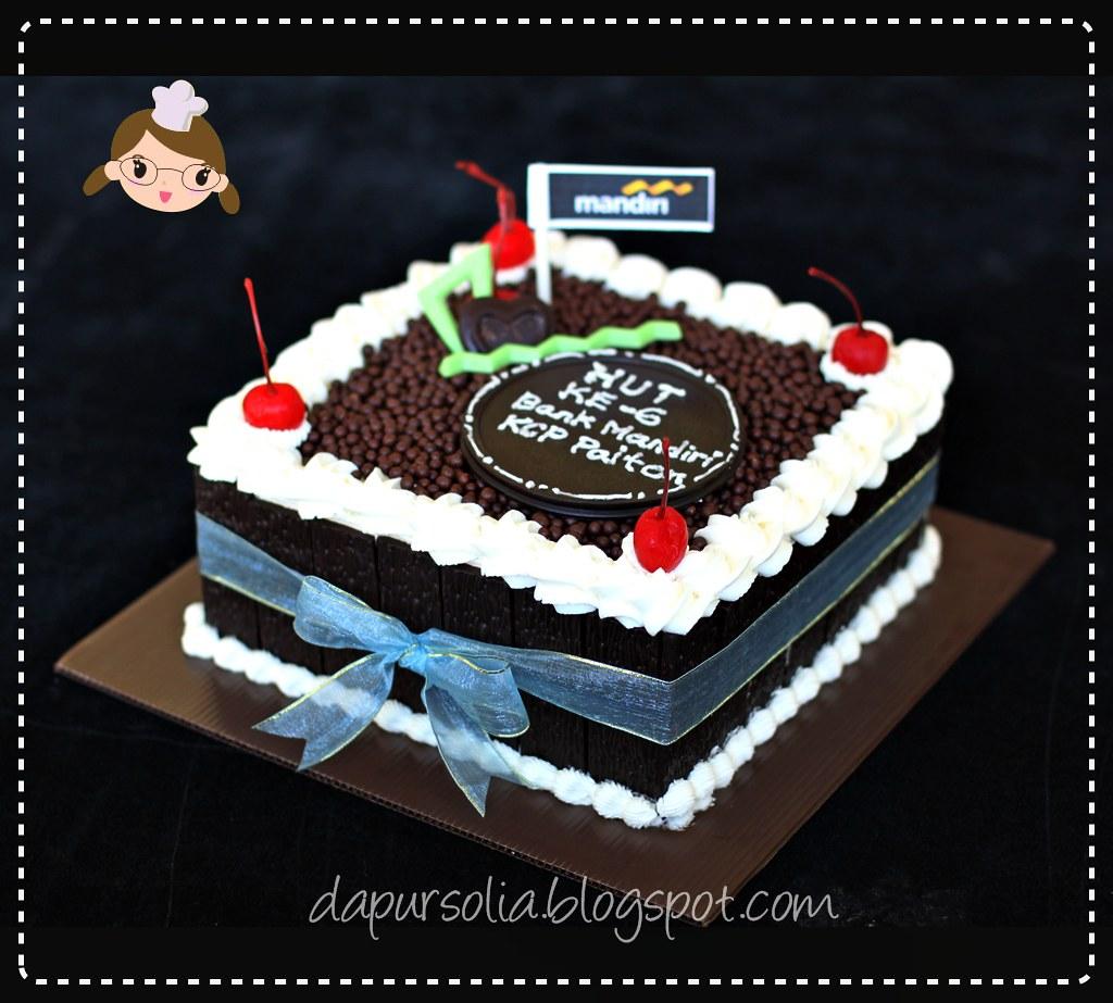 Black Forest Cake Bank Mandiri Paiton Shirley Theresia Flickr