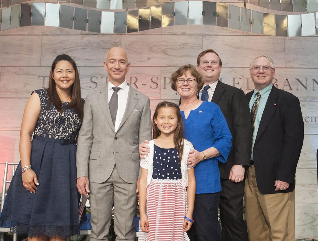 Flag Day Celebration Honoring Jeff Bezos He Smithsonian S Flickr
