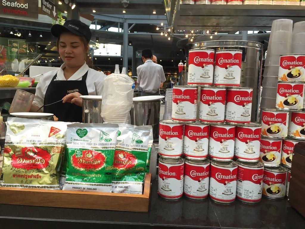 thai iced milk tea - staple