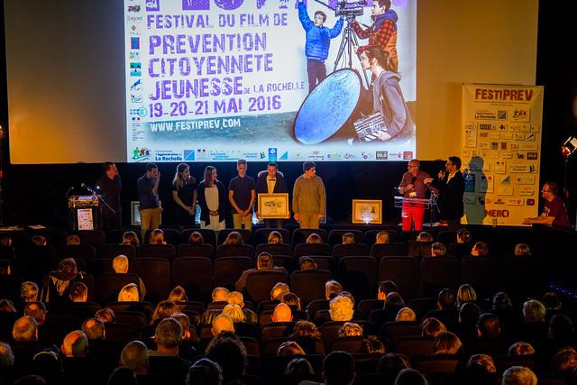 FESTIPREV 2016 PRIX D'HONNEUR DU FESTIVAL