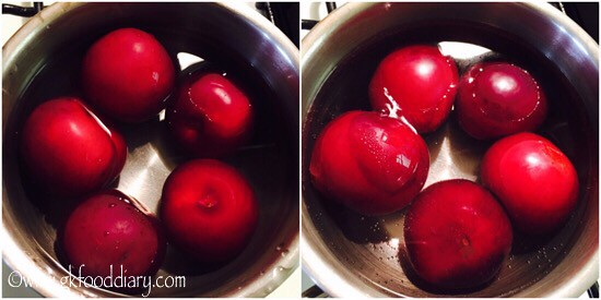 Plum Juice Recipe for Babies, Toddlers and Kids - step 1