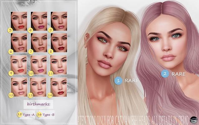 Skin 'Ilona' for CATWA