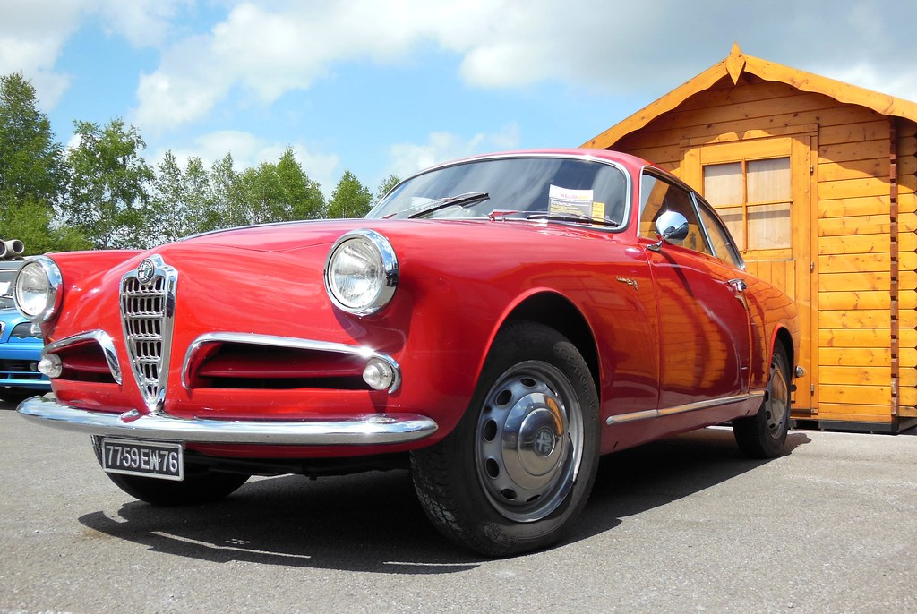 Alfa Romeo Giulietta Sprint Bertone Rtro Mcanick 2015 Flickr