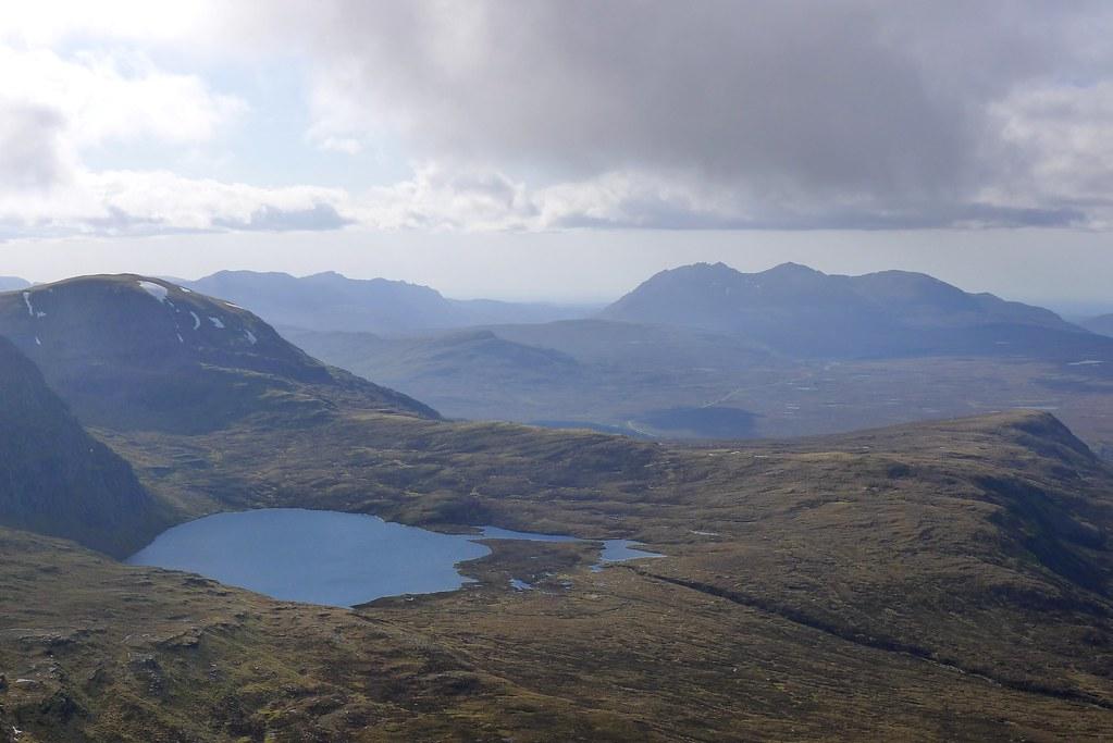 Loch a' Mhadaidh and An Teallach