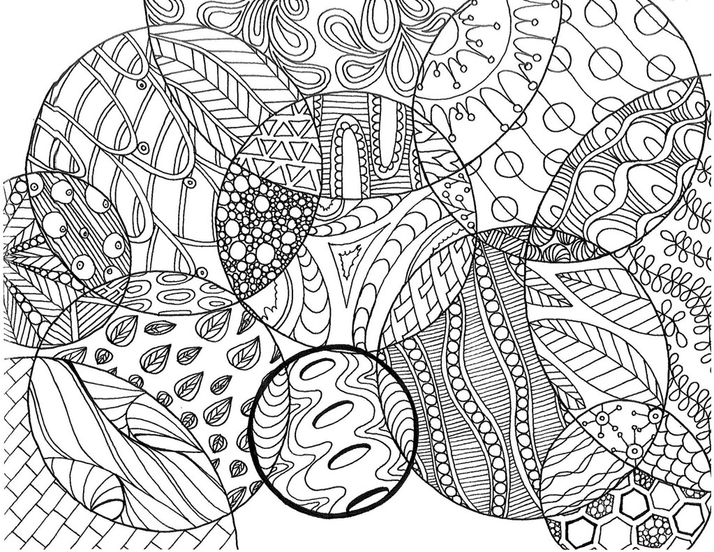circle zentangle coloring page | pages at etsy.com/shop/snee… | Flickr