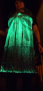 ThinkerBelle fibre optic EEG dress | by Rain Rabbit