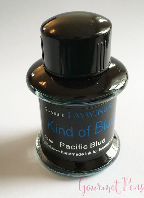 Ink Shot Review Laywines Kind of Blue Pacific Blue @Laywines 8