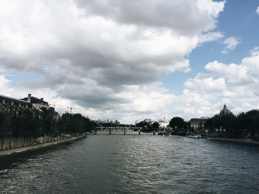 seine river left bank paris
