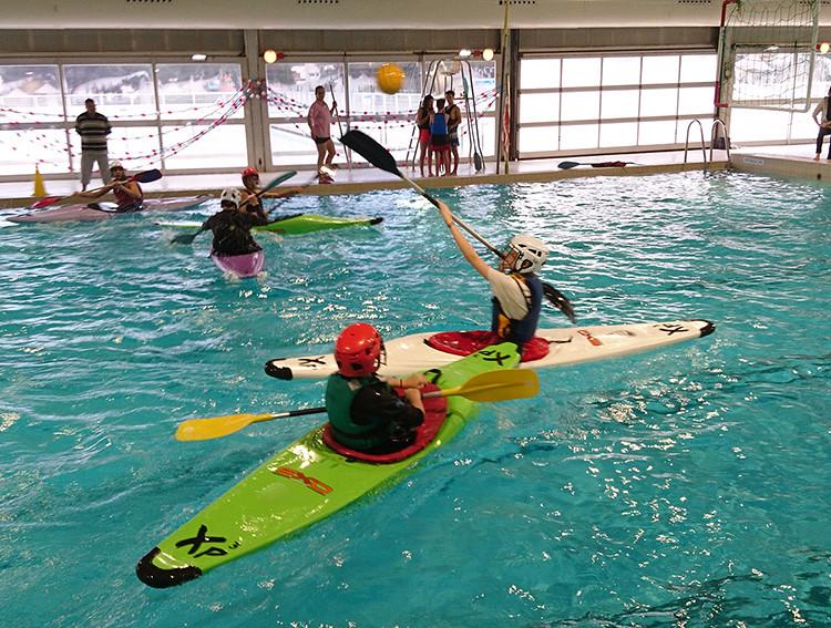 CNPRs Kayak polo Fos-sur-Mer
