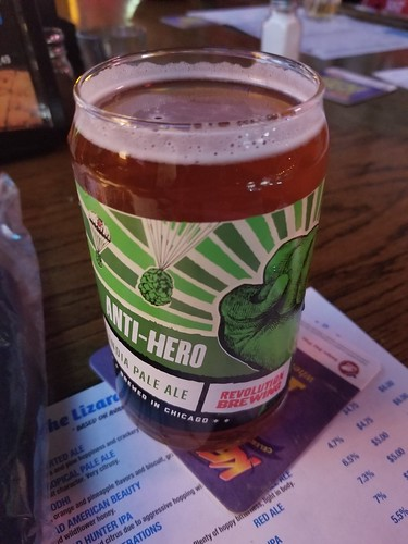 2019 Winking Lizard World Tour of Beers #1: Revolution Anti-Hero IPA - Quite hoppy, a very traditional IPA. | by kevingamin