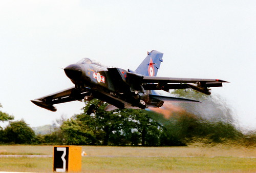 Tornado GR1A/RAF Church Fenton | by johnlukebilcliffe