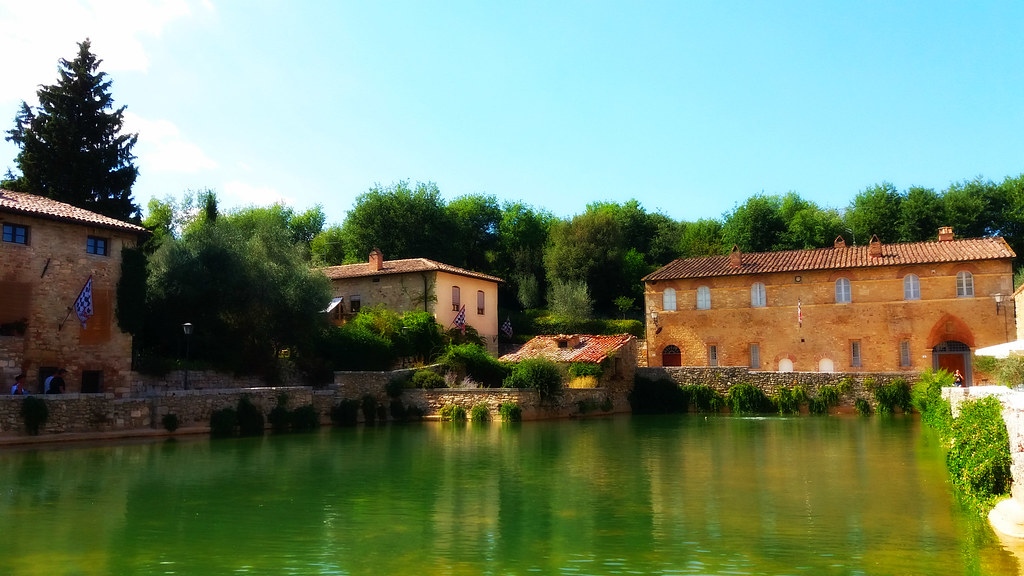 Bagno Vignoni A Noted Thermal Town In Tuscany Fede 92 Flickr