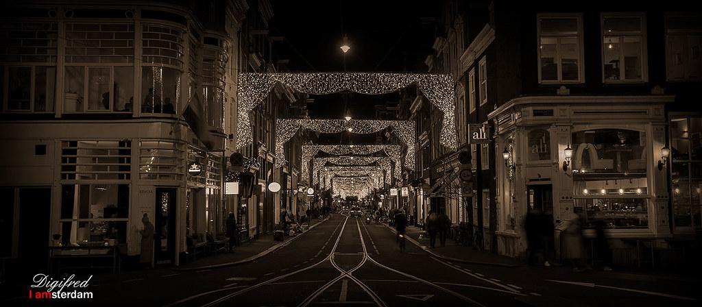 Amsterdam Op Weg Naar Een Gezellige Kerst Aan Al Mijn Fli Flickr