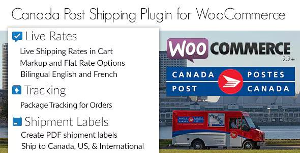 Canada Post Woocommerce Shipping Plugin v1.6.7