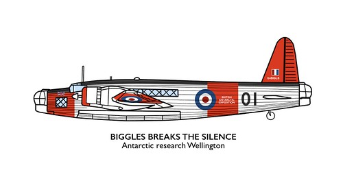 Biggles Breaks the Silence – Antarctic Research Wellington. | by Xenolius - G.I.