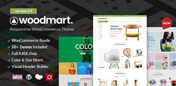 WoodMart v3.5.2 - Responsive WooCommerce Theme