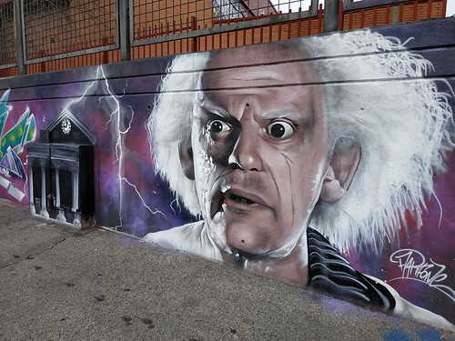 Doc Brown Back to the future | by Miguel Angel Prieto Ciudad