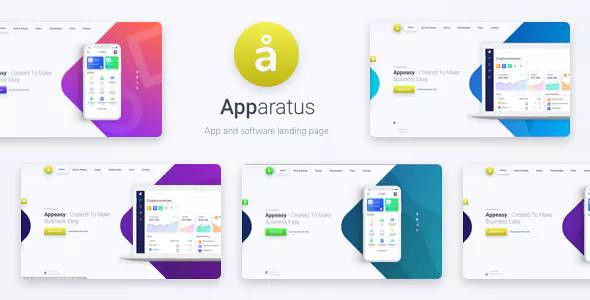 APPARATUS V1.3 – A MULTI-PURPOSE ONE-PAGE LANDING THEME