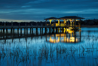 Covered Dock in Thunderbolt, GA | by budrowilson