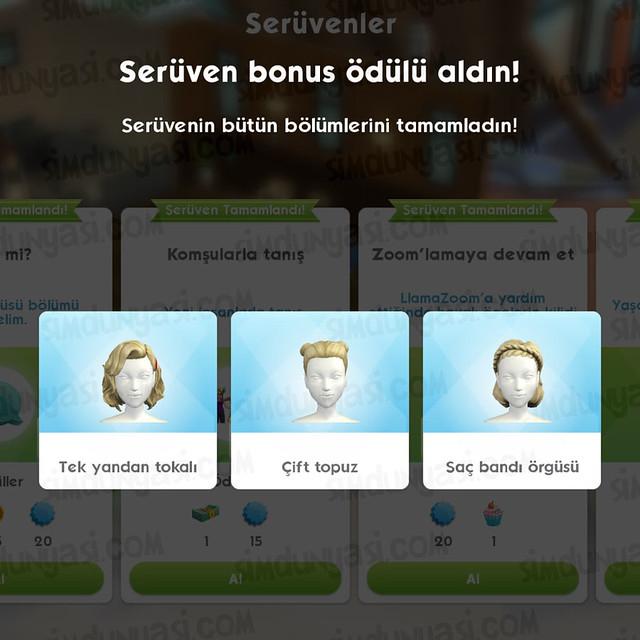 The Sims Mobile Millie Bobby Brown Saç Stilleri Ödüllü Bir Dilim İyilik Serüveni