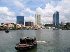 Singapore - Rivière Singapour
