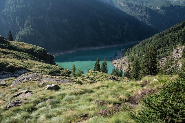 Anello delle dighe della Valle Antrona -  Bacino della Diga di Campliccioli