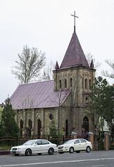 Ташкент. Лютеранская кирха.  Tashkent. The Lutheran Church.