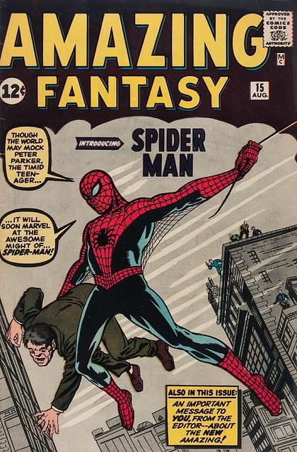 cover Amazing Fantasy 15