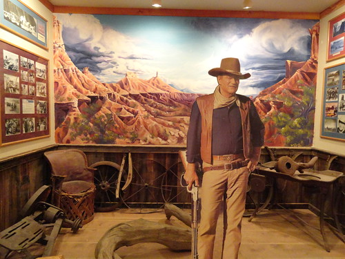 Photo Taken in the John Wayne Museum in Red Cliffs Lodge ...