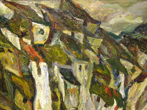 Chaim Soutine, The Houses, c 1920-1921 | by DeBeer