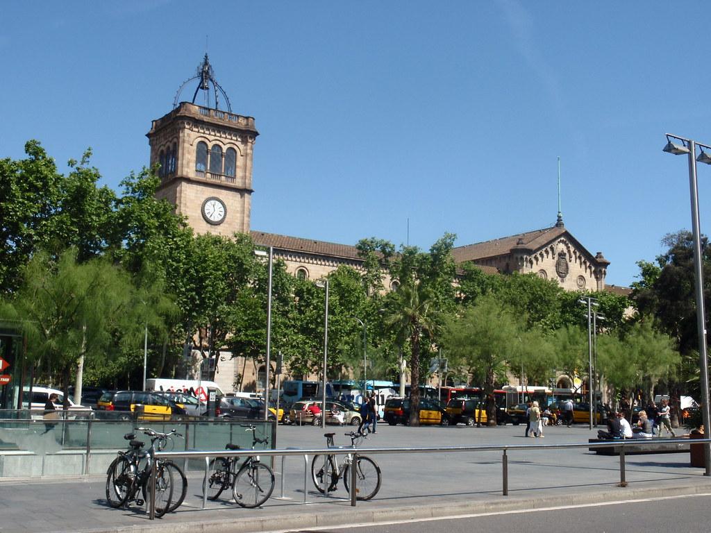 Pla a de la universitat oh flickr - Placa universitat barcelona ...