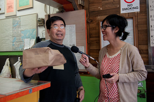 Val Wang interviewing John Chan | by Planet Takeout
