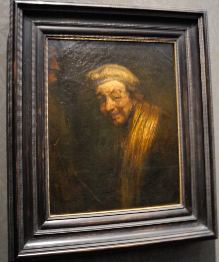 Rembrandt Van Rijn Self Portrait 1663 At Wallraf Richar Flickr