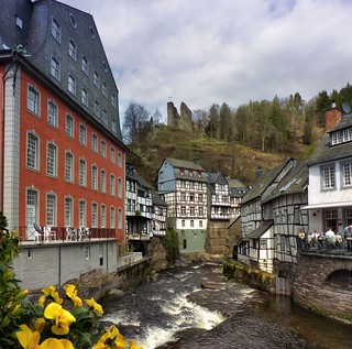 The Red House of Monschau | by B℮n